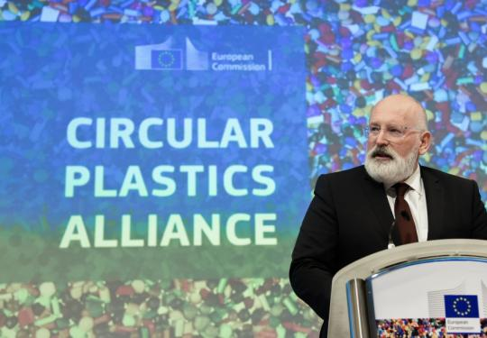 First Vice-President Frans Timmermans, responsible for sustainable development