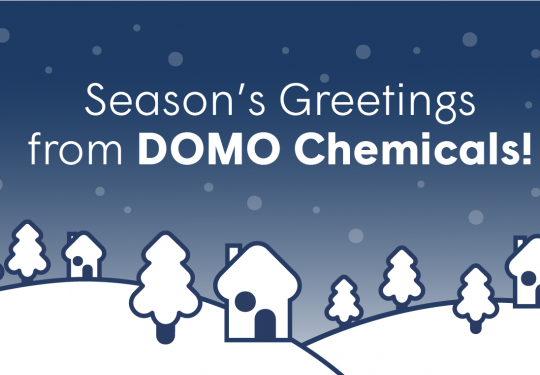 Season's greetings from DOMO Chemicals